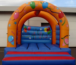 Arched Adult Bouncy Castle