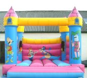Turreted Traditional Bouncy Castle